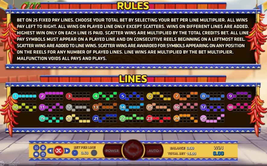 Lines ไลน์เพย์ภายในเกม Chilli Hunter