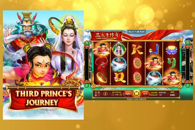 Joker Slot เกมสล็อตออนไลน์ Third Prince's Journey
