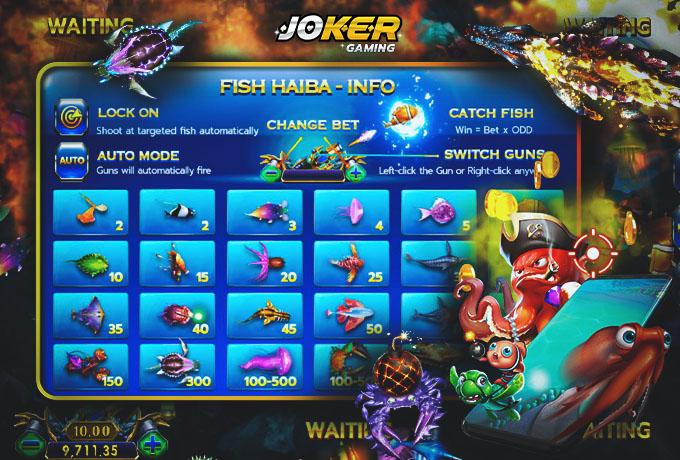 วิธีเล่น เกมยิงปลา Fish Hunter Hai Ba